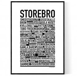 Storebro Poster