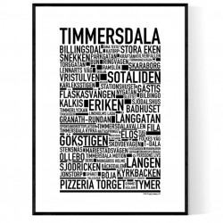 Timmersdala Poster