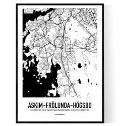 Askim-Frölunda-Högsbo Karta 2020
