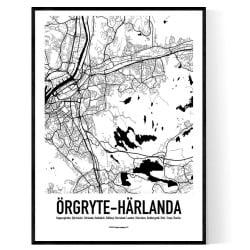 Örgryte-Härlanda Karta 2020