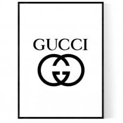 GG Logo Poster