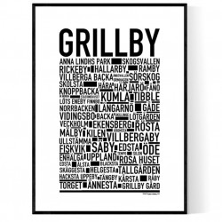 Grillby Poster