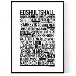 Edshultshall Poster