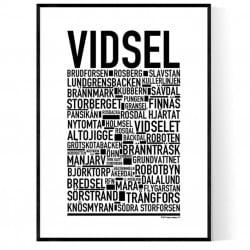 Vidsel Poster