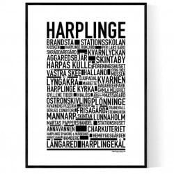 Harplinge Poster