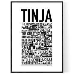 Tinja Poster