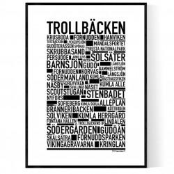 Trollbäcken Poster