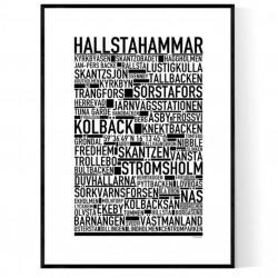 Hallstahammar Poster