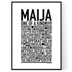 Maija Poster