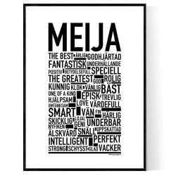 Meija Poster