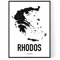 Rhodos Heart Poster