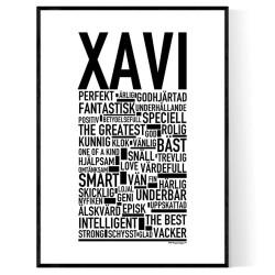 Xavi Poster