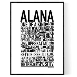 Alana Poster