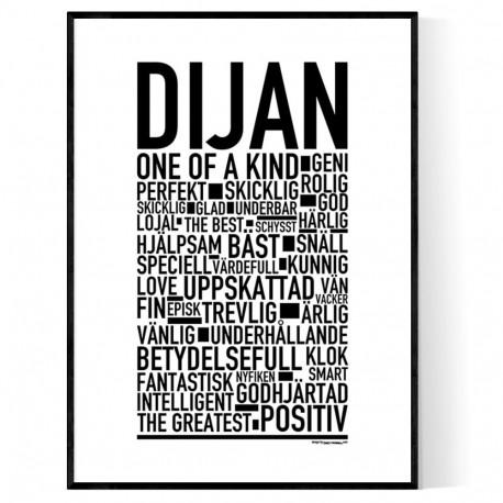 Dijan Poster