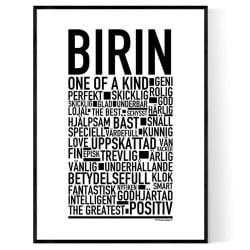 Birin Poster