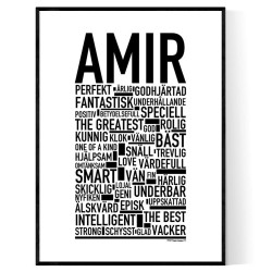 Amir Poster