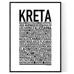 Kreta Poster
