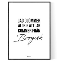 Från Borgvik