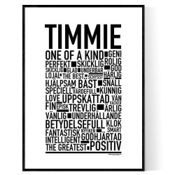 Timmie Poster