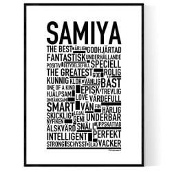 Samiya Poster