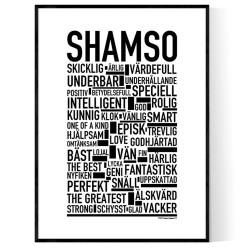 Shamso Poster