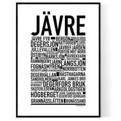 Jävre Poster