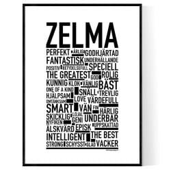 Zelma Poster