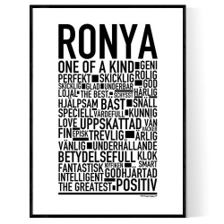 Ronya Poster