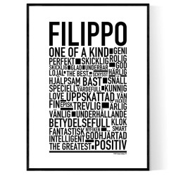Filippo Poster