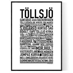 Töllsjö Poster