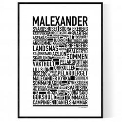 Malexander Poster