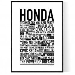 Honda Poster
