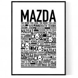 Mazda Poster