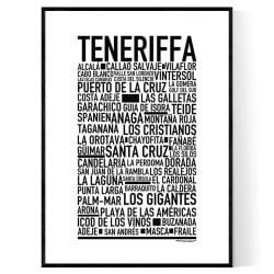 Teneriffa Poster