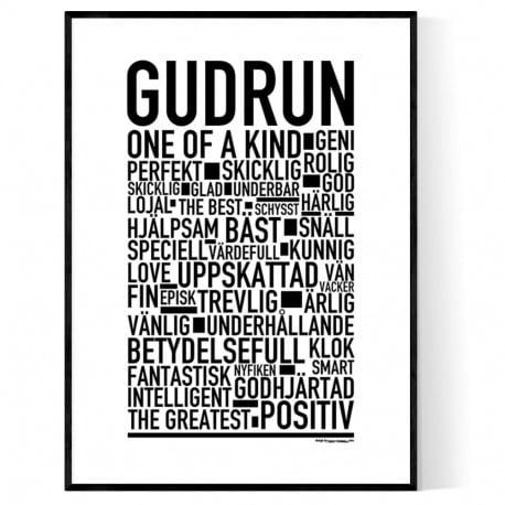 Gudrun Poster