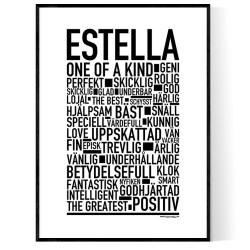 Estella Poster