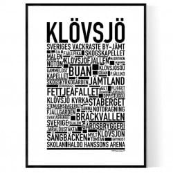 Klövsjö Poster