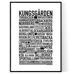 Kungsgården Poster