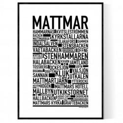Mattmar Poster