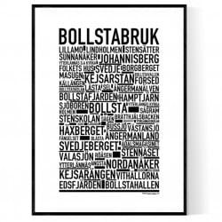 Bollstabruk Poster