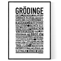 Grödinge Poster