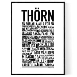 Thörn Poster