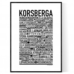 Korsberga Poster