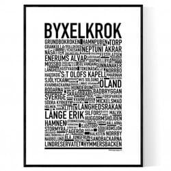 Byxelkrok Poster