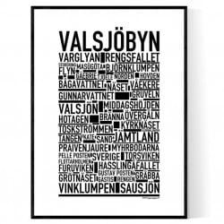 Valsjöbyn Poster