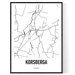 Korsberga Hjo Karta