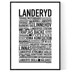 Landeryd Poster