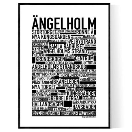 Ängelholm Poster