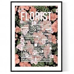 Florist Flowers Poster
