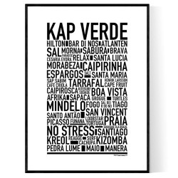 Kap Verde Poster